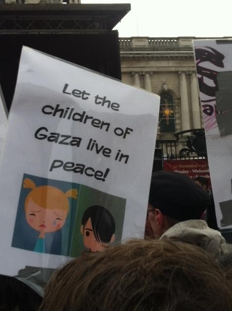 gaza poster, gaza march