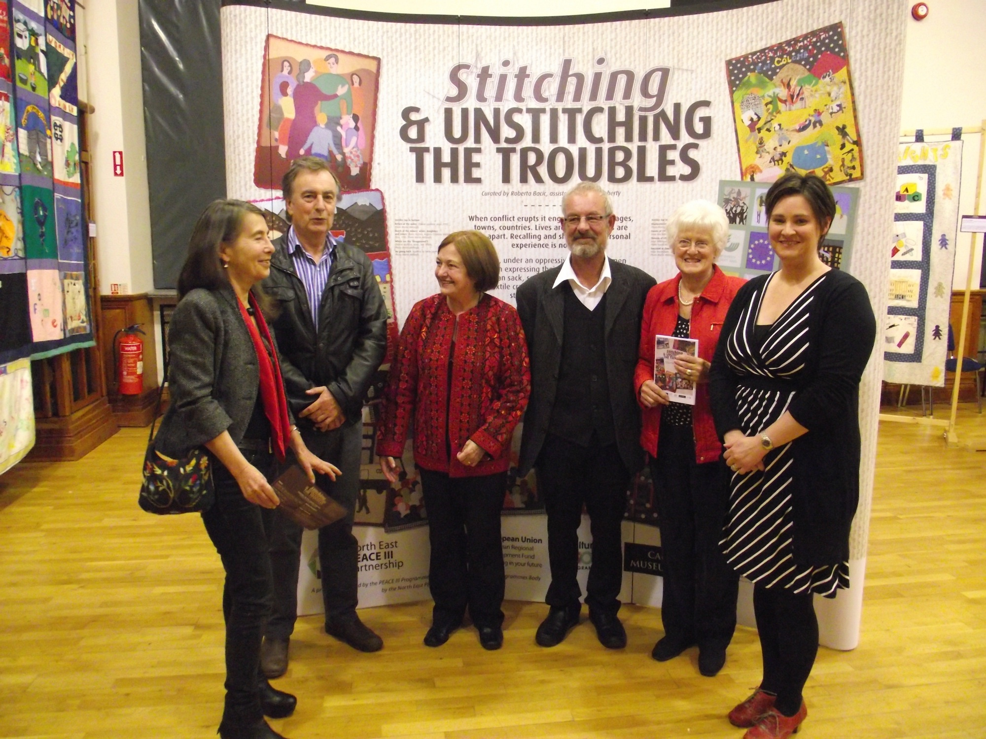 stitching & unstitching the troubles