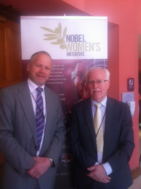 Peace People Chair Person & Trevor Ringland attend Nobel Women's Initiative Conference