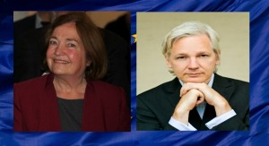 Mairead Maguire & Julian Assange