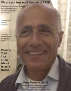 Vanunu poster 2014