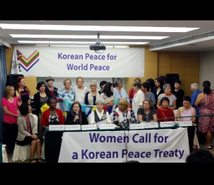 Peace Activists Calling For An End To The Korean War