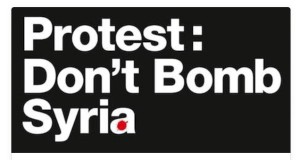 dont bomb syria poster