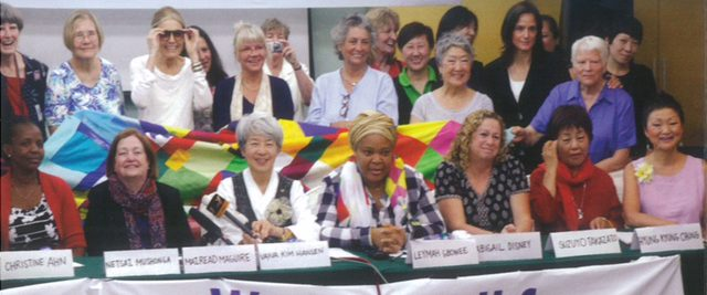 Women Call for a Korean Peace Treaty