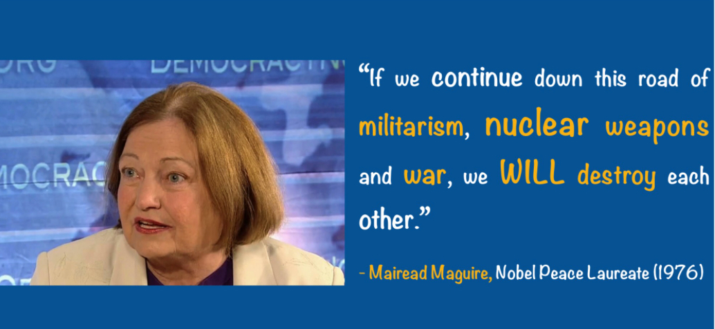 No to NUCLEAR WEAPONS