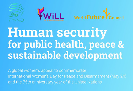 Press release for the  HUMAN SECURITY FOR PUBLIC HEALTH, PEACE AND SUSTAINABLE DEVELOPMENT  appeal