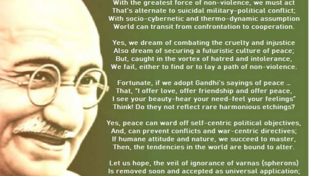 Tabooed Gandhi  By Leo Semashko and GGHA